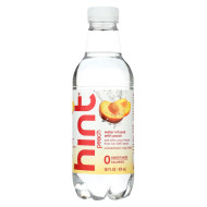 Hint Peach Water - Peach - Case of 12 - 16 Fl oz.