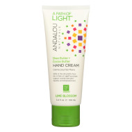 Andalou Naturals Hand Cream - A Force Of Nature Shea Butter Plus Coconut Water - Lime Blossom - 3.4 Oz