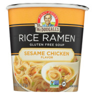 Dr. Mcdougall'S Rice Noddle Asian Soup - Sesame Chicken - Case Of 6 - 1.3 Oz.