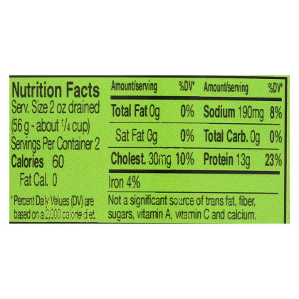 Wild Selections Solid Light Tuna - in Water - Case of 12 - 5 oz