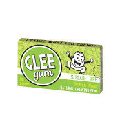Glee Gum Chewing Gum - Lemon Lime - Sugar Free - 16 Pieces - Case of 19