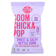 Angie'S Kettle Corn Boom Chicka Pop Sweet And Salty Popcorn - Case Of 24 - 1 Oz.