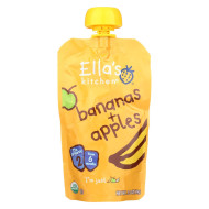 Ella'S Kitchen Baby Food - Apples Bananas - Case Of 12 - 3.5 Oz.