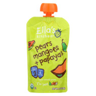 Ella'S Kitchen Baby Food - Pears Mangoes Papayas - Case Of 12 - 3.5 Oz.