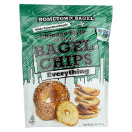 Hometown Bagel Bagel Chips - Everything - Case Of 12 - 6 Oz