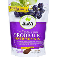 Biovi Probiotic - Antioxidant Blend - Natural Chocolate - 30 Soft Chews