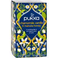 Pukka Herbal Teas Tea - Organic - Chamomile Vanilla And Manuka Honey - 20 Bags - Case Of 6