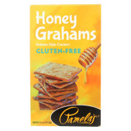 Pamela'S Products Graham Style Crackers - Honey - Case Of 6 - 7.5 Oz.