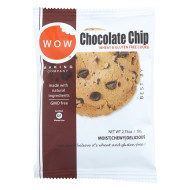 Wow Baking Chocolate Chip - Case Of 12 - 2.75 Oz.