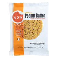 Wow Baking Cookie - Peanut Butter - Case Of 12 - 2.75 Oz.