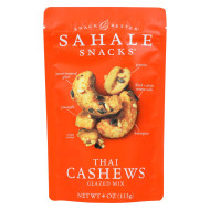 Sahale Snacks Cashews - Thai - Case of 6 - 4 oz.