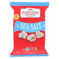 Popcorn Indiana Popcorn - Sea Salt - Case of 12 - 4.75 oz.