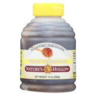 Nature'S Hollow Honey Substitute - Sugar Free - Case Of 12 - 14 Oz