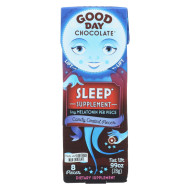 Good Day Chocolate Chocolate Pieces - With Sleep - Case Of 12 - .99 Oz