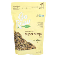Go Raw Sprouted Seed - Super Simple - Case of 6 - 16 oz.