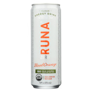 Runa Clean Energy Drink - Orange Passion - Case of 12 - 12 Fl oz.
