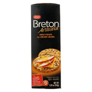 Dare Breton Artisanal Grain Crackers - Sweet Potato - Case Of 6 - 5.29 Oz.