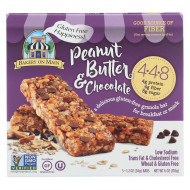 Bakery On Main Peanut Butter and Chocolate Granola Bars - Case of 6 - 1.2 oz.