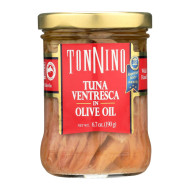 Tonnino Tuna Ventresca - Olive Oil - Case Of 6 - 6.7 Oz.