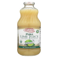 Lakewood Organic Pure Lime - Lime - Case of 12 - 32 Fl oz.
