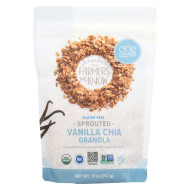 One Degree Organic Foods Sprouted Oat Granola - Vanilla Chia - Case of 6 - 11 oz.