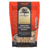 Truroots Rice and Quinoa - Sprouted, Blend - Case of 6 - 10 oz.