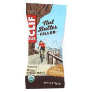 Clif Bar Organic Nut Butter Filled Energy Bar - Coconut Almond Butter - Case Of 12 - 1.76 Oz.