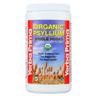 Yerba Prima Organic Psyllium - Whole Husks Supplement - 12 oz.