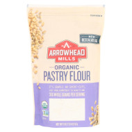 Arrowhead Mills Organic Pastry Flour - Case of 6 - 20 oz.