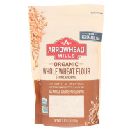 Arrowhead Mills Organic Whole Wheat Flour - Stone Ground - Case of 6 - 22 oz.