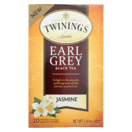 Twining'S Tea Black Tea - Earl Grey Jasmine - Case Of 6 - 20 Count