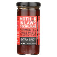 Mother-In-Law's Kimchi Extra Spicy Concentrated - Case of 6 - 10 oz.