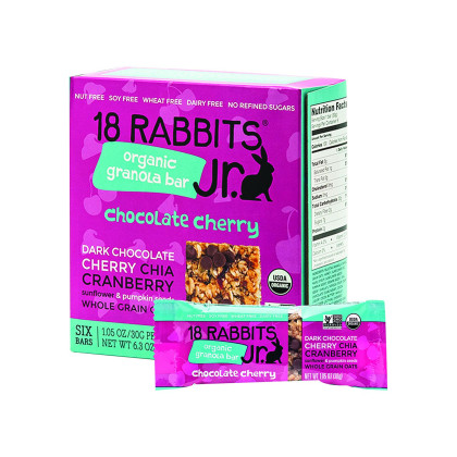 18 Rabbits Organic Granola - Cherry, Chia And Vanilla - Case Of 6 - 11 Oz.