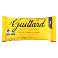 Guittard Chocolate Chips - Super Cookie Chips - Case Of 12 - 10 Oz.