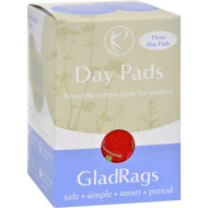 Gladrags Color Cotton Day Pad - 3 Pack