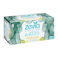 Zevia Sparkling Water - Cucumber Lemon - Case Of 3 - 8/12 Fl Oz