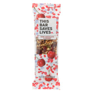 This Bar Saves Lives - Dark Chocolate Cherry And Sea Salt - Case Of 12 - 1.4 Oz.