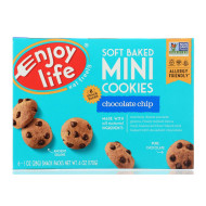 Enjoy Life Mini Cookies - Chocolate Chip - Case Of 6 - 6 Oz.
