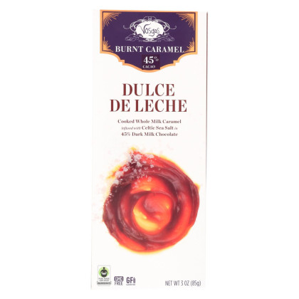 Vosges Haut-Chocolat Bar - Dulce De Dulce - Case of 12 - 3 oz