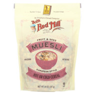 Bob'S Red Mill Cereal - Fruit & Seed Muesli - Case Of 4 - 14 Oz