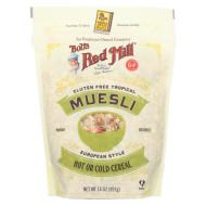 Bob's Red Mill Cereal - Gluten Free Tropical Muesli - Case of 4 - 14 oz