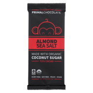 Eating Evolved Chocolate Bar - Almond Sea Salt - Case of 8 - 2.5 oz.