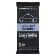 Eating Evolved Chocolate Bar - Midnight Coconut - Case of 8 - 2.5 oz.