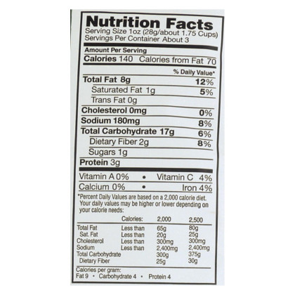 Vegan Rob's Puffs - Brussel Sprout - Case of 12 - 3.5 oz