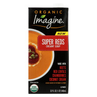 Imagine Foods Soup - Organic - Super Reds - Creamy - Case Of 12 - 32 Fl Oz