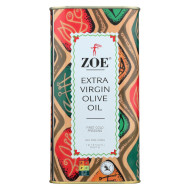 Zoe Olive Oil - Extra Virgin - Case Of 6 - 1 Ltr