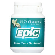 Epic Dental - Gum Xylitol Wintergreen - 50 CT