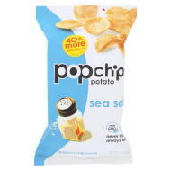Popchips Potato Chip - Sea Salt - Case Of 12 - 5 Oz