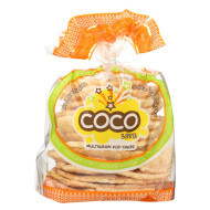 Coco Lite Multigrain Pop Cakes Pop Cakes - Original - Case of 12 - 2.64 oz