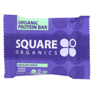 Square Organics Bar - Organic - Chocolate Cookie Dough - Case Of 12 - 1.6 Oz